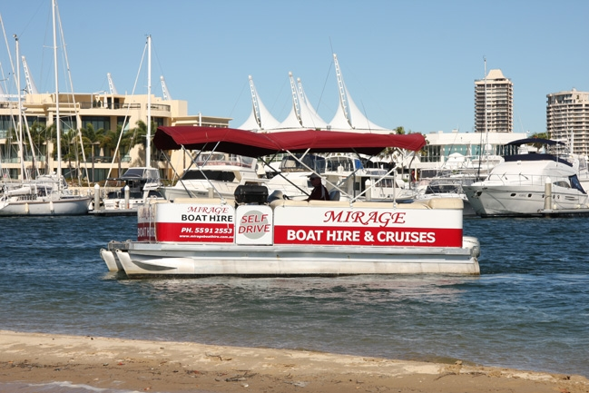 Mirage Boat Hire - QLD Tourism