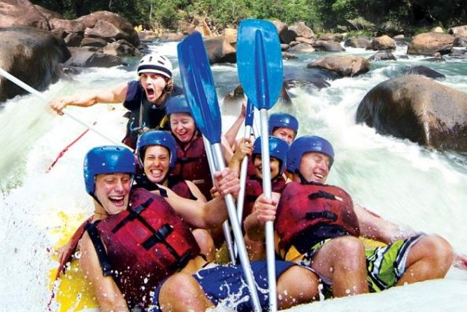 Tully River Full-Day White Water Rafting from Cairns including Lunch - QLD Tourism