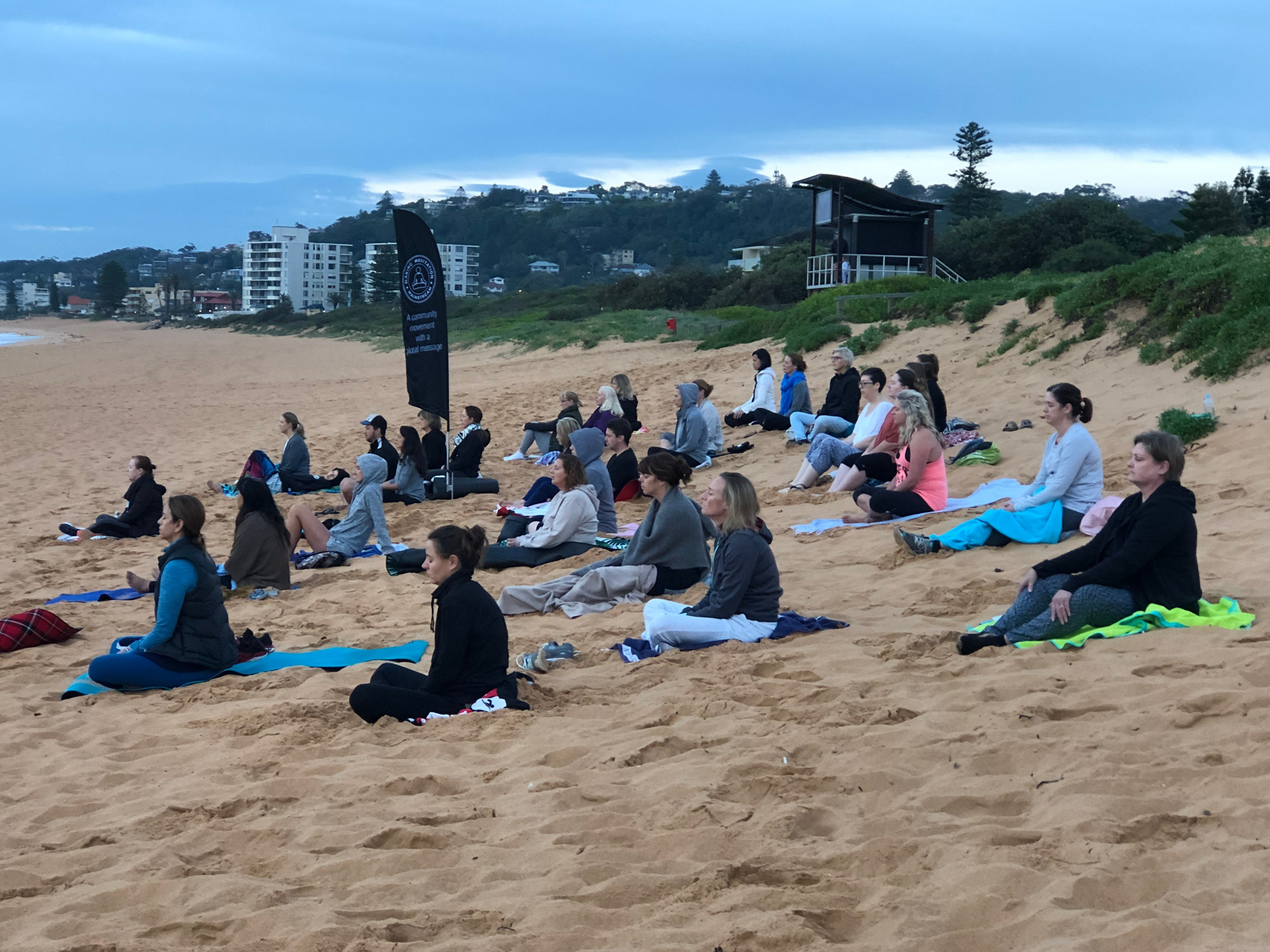 Meditation Mainstream Free Beach Meditation Session Mooloolaba - QLD Tourism