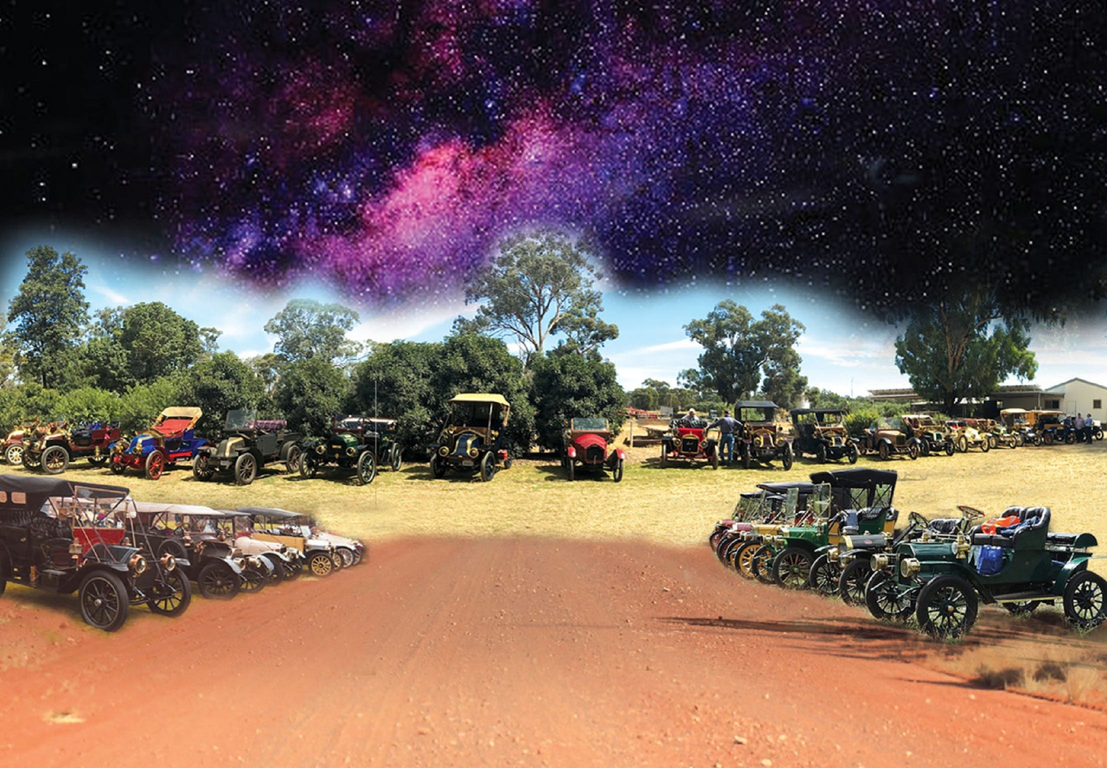 National Veteran 1 and 2 Cylinder Rally - QLD Tourism