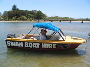 Swan Boat Hire - QLD Tourism
