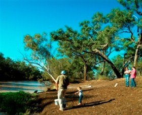 Charleville - Dillalah Warrego River Fishing Spot - QLD Tourism